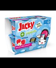 Jacky Jugupala 4x120g vadelma-vaniljajogurtti