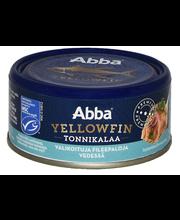 Abba 150/105g yellowfin tonnikalaa vedessä MSC
