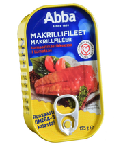 MSC makrillifileet 125g