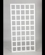 Köynnösritilä/aita 90x180 cm valkoinen