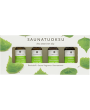 Saunatuoksu puutel.4x10ml