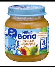 Nestlé Bona 125g Persikkaa ja päärynää hedelmäsose 4kk