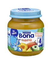 Nestlé Bona 125g Hedelmiä hedelmäsose 4kk