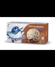 Pingviini 1L/516g Suklaa-Nougat kermajäätelö kotipakkaus