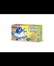 Pingviini 1L/500g Synttäritrio Laktoositon kermajäätelö kotipakkaus