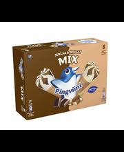 Pingviini 8x64g/1.1dl Suklaa & Nougat MIX jäätelötuutti monipakkaus