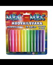 Muovailuvaha M.E.C., 12 kpl