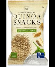 WS Quinoa Snacks Creamy Jalapeno 45g