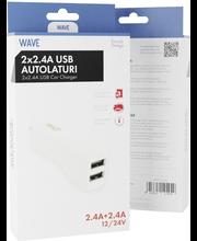 Wave autolaturisovitin 4.8a 2xusb