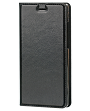 WAVE Huawei P8 Lite musta hiilikuitukuvioitu Book Case-kotelo
