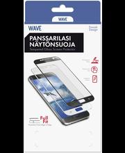 Wave panssarilasi Full Fit Huawei Nova 3 musta