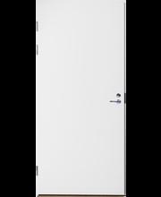 Laakapalo-ovi Fire 810 8x21 vasen maalattu valkoinen valkoinen karmi