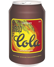 Laitilan Rio Cola 0,33L kolanmakuinen limonaadi
