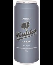 Laitilan Kukko 0,5L Schwarz 4,5% olut