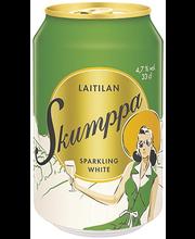 Laitilan Skumppa 0,33L Sparkling White 4,7% siideri