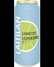 Laitilan Limetti 4,7% 0,5L long drink