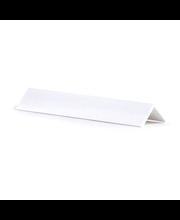 Kulmalista PVC 15x15x2700 Valkoinen