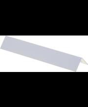 Kulmalista PVC 24x24x2700 Valkoinen
