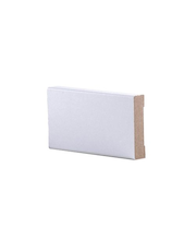 Peitelista MDF 12x52x2200 Mel Valkoinen