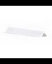 Kulmalista PVC 12x12x2700 Valkoinen