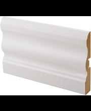 Peitelista laine mdf 16x92x2200 mel valkoinen