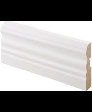 Peitelista laine mdf 16x65x2200 mel valkoinen