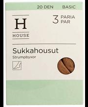 House Basic sukkahousut 20 den 3pr