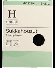 House Basic sukkahousut 40 den 1pr