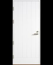 HALLTEX Ovet Venla valkoinen umpi 10x21 vasen