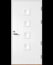 HALLTEX Ovet Siiri 03 valkoinen 9x21 oikea