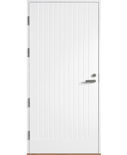 HALLTEX Ovet Toivo 01 valkoinen 10x21 vasen