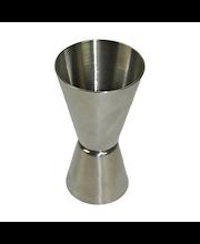 Heirol Steely -viinamitta 2/4 cl ruostumatonta terästä