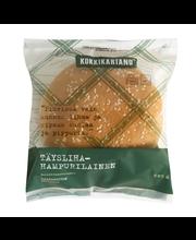 Kokkikartano 205g Täyslihahampurilainen  valmisruoka