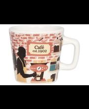 Kultakeramiikka Café 1902 espressokuppi 0,8dl, monivärinen