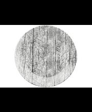 Kultakeramiikka Kelo lautanen 18 cm, harmaa