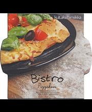 Kultakeramiikka Bistro pizzakivi 30 cm, musta