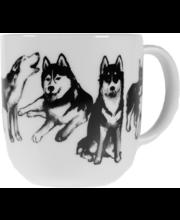 Kultakeramiikka Koiran Ystävä 0,3 l Husky muki