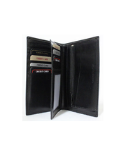 Grando nahkainen miesten lompakko, musta