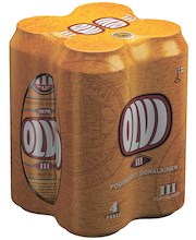 OLVI 0,5L tlk III 4,5% 4-pakki