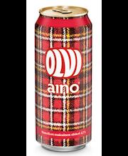 OLVI Aino-siideri mansikka 4,7% 0,5L tlk
