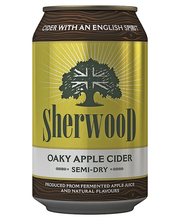 Sherwood 0,33L Oaky Apple Semi-Dry Cider 4,7% tölkki