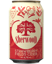 Sherwood 0,33L Strawberry Fields cider 4,7% tlk