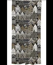 Vallila Bergen verho 140x250cm ruskea