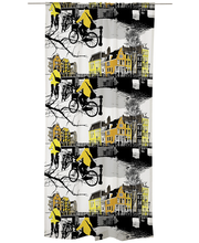 Vallila Amsterdam verho 140x250cm keltainen
