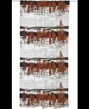 Vallila Muonio verho 140x250cm punainen