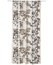 Vallila Luontopolku verho 140x250cm ruskea