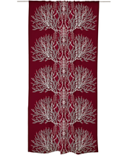 Vallila Varvikko verho 140x240cm punainen