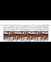 Vallila Muonio kappa 60x250cm punainen