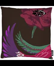 Vallila Vaakku tyynynpäällinen 43x43cm tummanpunainen