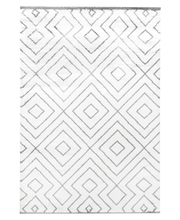 Vallila matto Pumpuli Rug 133x190cm valkoinen